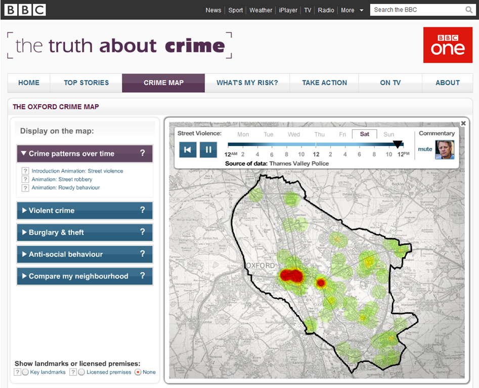 Heat Mapping Crime Data With Bing Maps And HTML Canvas Alastair - Map my data