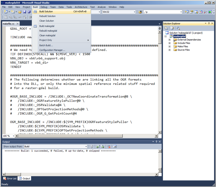 Importing Spatial Data to SQL Server with OGR2OGR–now even easier