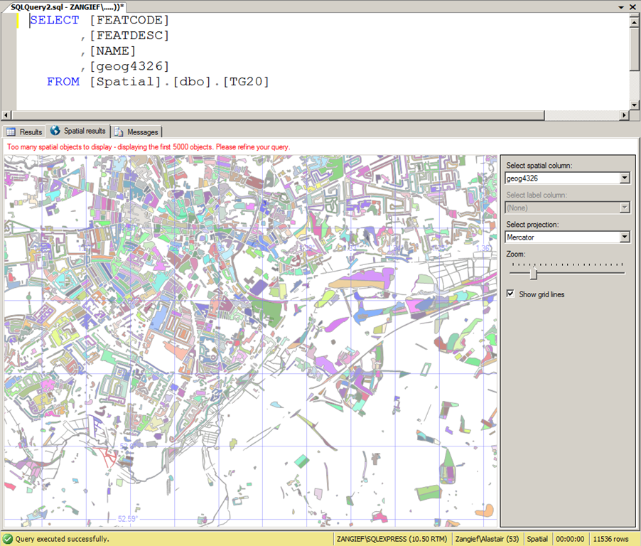 Importing Spatial Data to SQL Server with OGR2OGR–now even