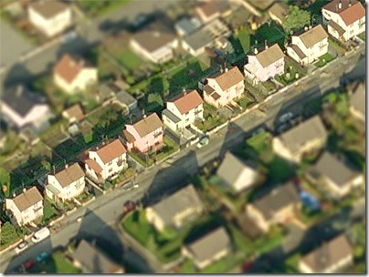 to create a dynamic tilt shift filter in html5 or silverlight to apply this effect in realtime as you panned across bing maps in birdseye view