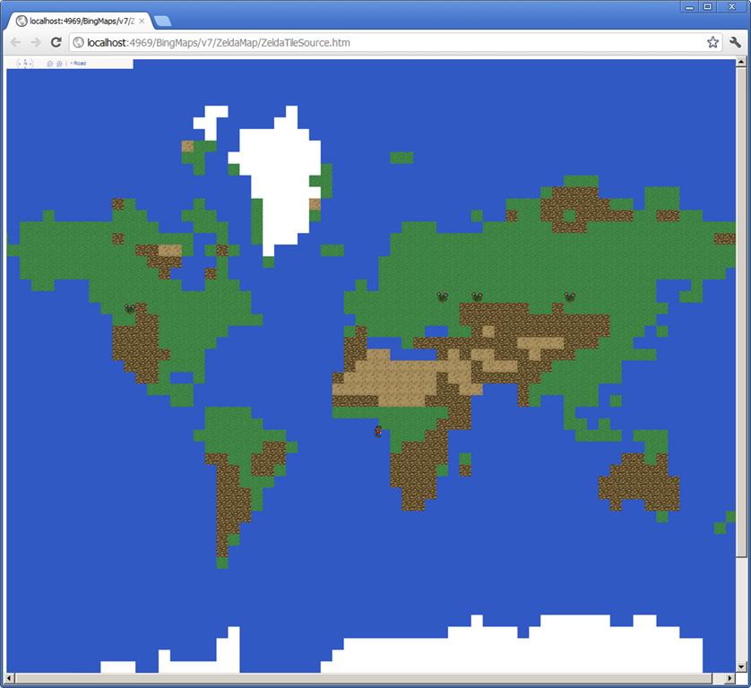 Googles April Fools Day 8bit Map Alastair Aitchison