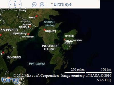 Rotating Bing Maps   Alastair Aitchison