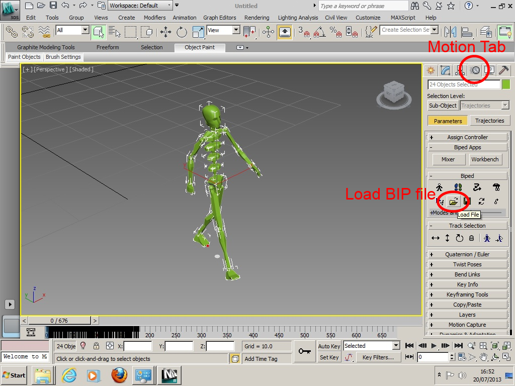 Using (Free) Mocap Data for Game Character Animation in Unity