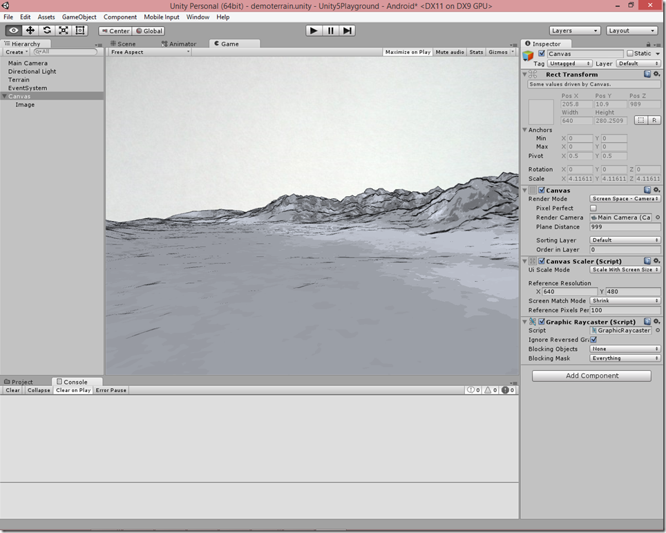 "Creating ""Hand-Drawn"" Terrain in Unity 